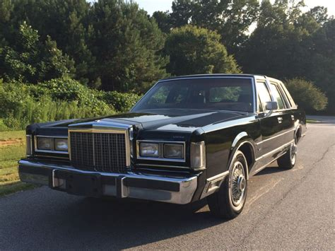 1986 lincoln town car for sale