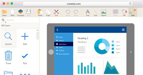 responsive design mockup tools ipad mockup tool to quickly creately ipad app wireframes