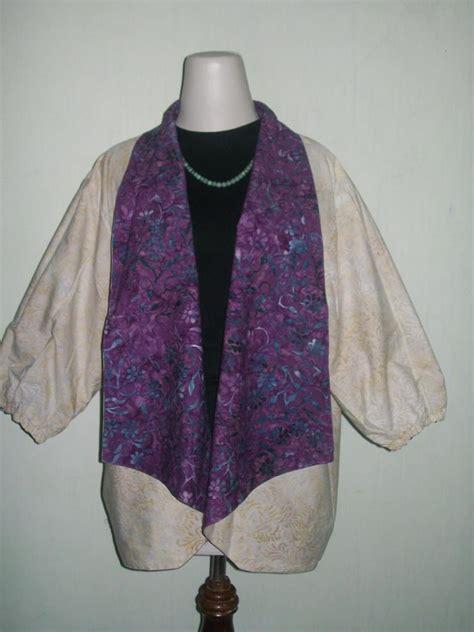 Bolero Batik Blazer Batik Bisa Bolak Balik jual murah bolero batik bolak balik model blazer bl028