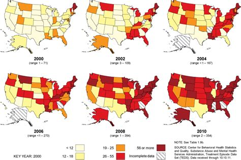 opiophilia heroin in the united states where does it teds state admissions 2000 2010 cover page