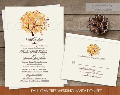 17 Best Images About Invitations On Pinterest Craftsman Wedding Paper Divas And Pocket Oak Tree Wedding Invitation Templates
