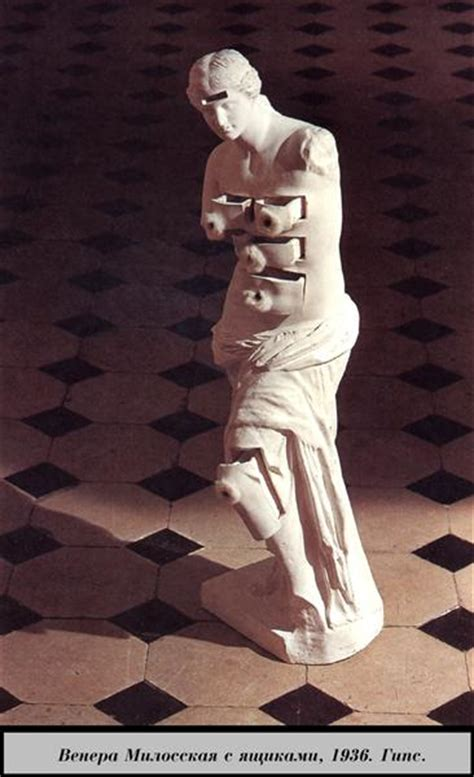 Salvador Dali With Drawers by Venus De Milo With Drawers 1936 Salvador Dali Wikiart Org