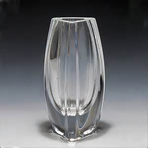 signed baccarat bouton d or vase from oh on ruby