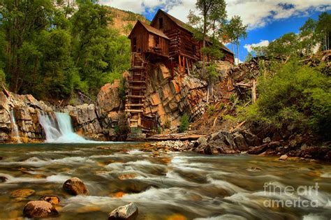 Home Decor Apps For Ipad by Historic Colorado Landscape Photograph By Adam Jewell