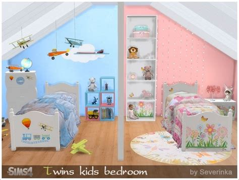 twins kids bedroom  sims  severinka sims  updates