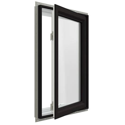Jeld Wen Premium Vinyl Windows Inspiration Jeld Wen Premium Series Low E 366 Argon Vinyl Casement Window Right Hinged At Menards 174