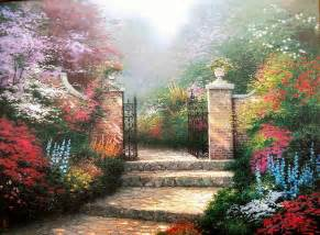 Garden Of Painting Garden Paintings For Sale Garden Paintings