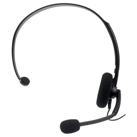 Headset Xbox 360 official microsoft xbox 360 black headset microphone new unboxed ebay