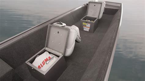 jon boat seat storage 2017 alumacraft jon boat