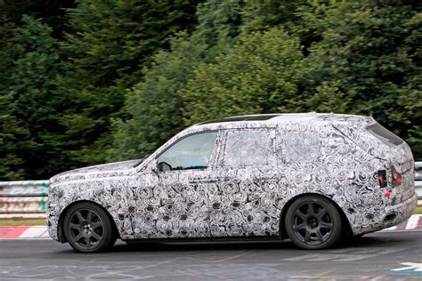 roll royce garage 2019 rolls royce cullinan spied sharing nurburgring garage