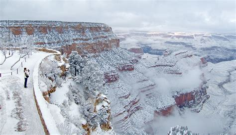 snow in south winter in the grand canyon photo gallery my grand canyon