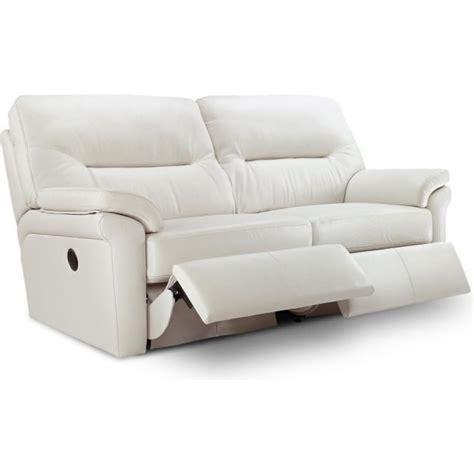 G Plan Leather Sofa G Plan Washington Leather 3 Seater Electric Recliner Sofa