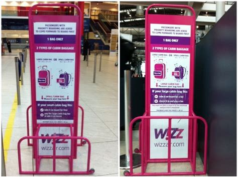 wizzair large cabin bag weight flyertalk forums how big of a risk that a 50x35x18 cm