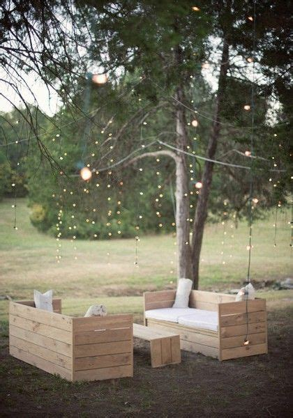 Patio Twinkle Lights Outdoor Seating With Twinkle Lights Architecture