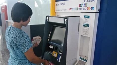 Mesin Atm Bank antisipasi natal dan tahun baru 2017 mandiri siapkan