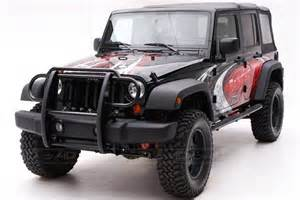 Grill Guard For Jeep Wrangler Aries 174 Jeep Wrangler 2007 2015 Rear Modular Bumper