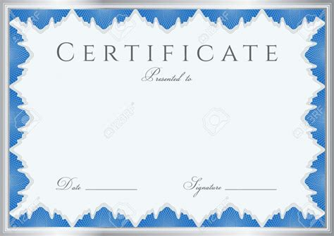 certificate templates for 7 award printable certificates certificate templates