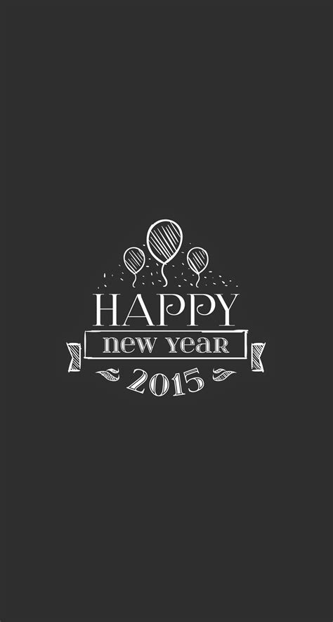 happy new year wallpaper for iphone 5 2015 happy new year balloons insignia iphone 6 plus hd