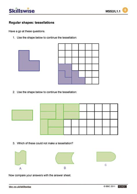 tessellation pattern worksheet printables tessellations worksheet happywheelsfreak