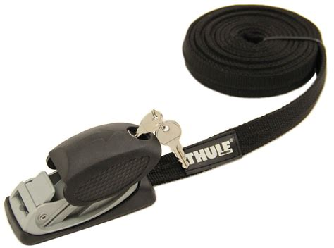 Roof Rack Straps by Thule Multipurpose Locking Straps With Rubber Housings