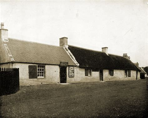 Burns Cottage by Robert Burns Cottage Alloway Scotland 1892 Pastpictures Org
