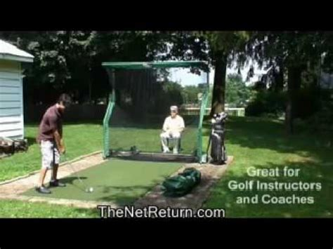 Best Golf Net For Backyard by The Indoor Golf Hitting Net Practice Net For Home Garage Backyard How To Save Money And Do It