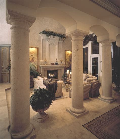 column decorations home how to add old world style to your new home carmellalvpr