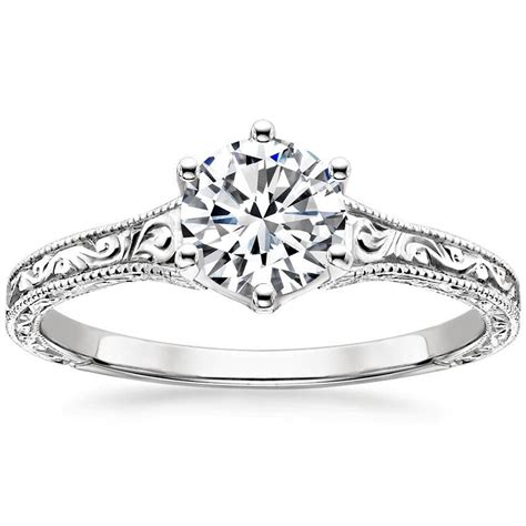 Filigree Engagement Ring by Filigree Rings Brilliant Earth