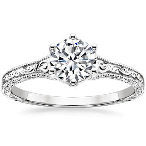 filigree engagement ring trulagreen