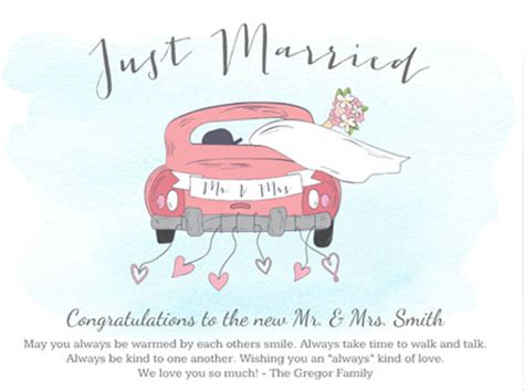 Wedding Wishes For Just Married by Just Married Wishes Greeting Smilebox
