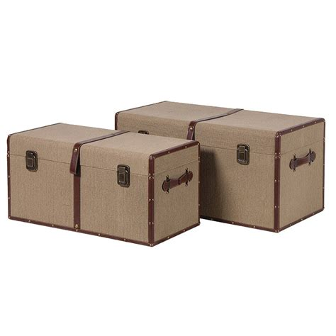 large trunk large canvas storage trunk no 44