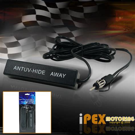 new universal car lified antenna kit 12v electronic stereo am fm radio ebay