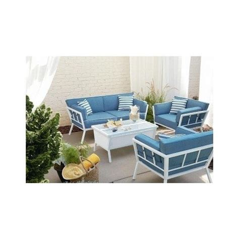 Buy Patio Furniture Sets Patio Furniture Sets 4pc Seating Set With Articulating Coffee Table Great Buy Hoangnam0743