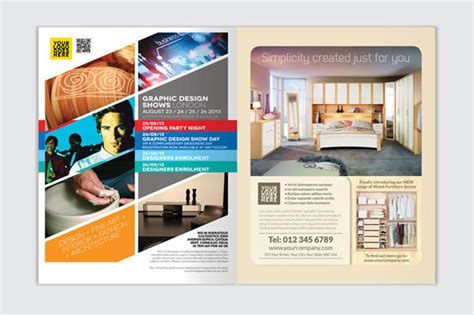 design flyer indesign brochure design templates indesign 25 really beautiful