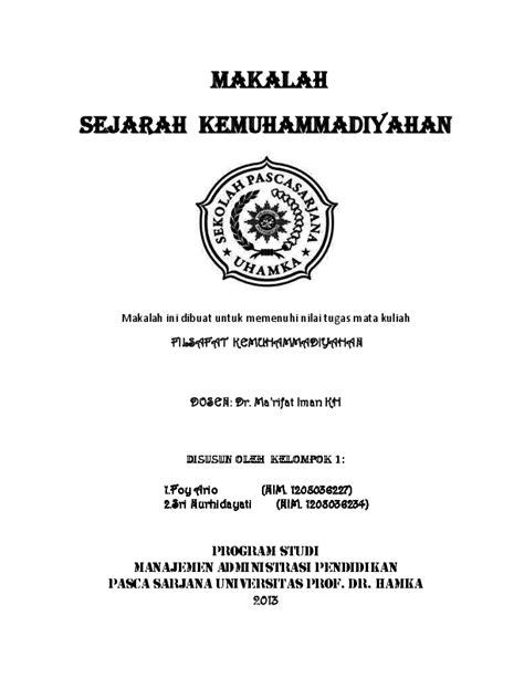 Buku Kuliah Kemuhammadiyahan 2 Pdf