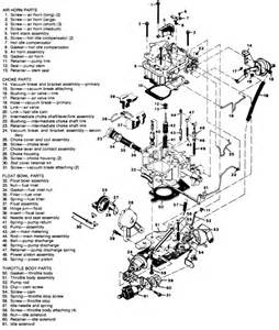 Fuel System Names Repair Guides Carbureted Fuel System 2se And E2se