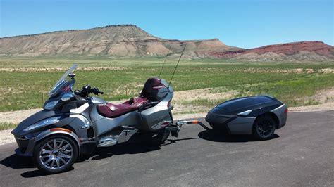 all new spyder freedom trailer fred rau motorcycling