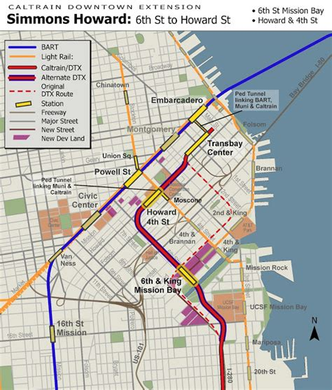 san francisco caltrain map uncrooking san francisco s crookedest tunnel