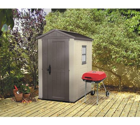 Argos Garden Sheds by Buy Keter Apex Plastic Garden Shed 6 X 4ft At Argos Co