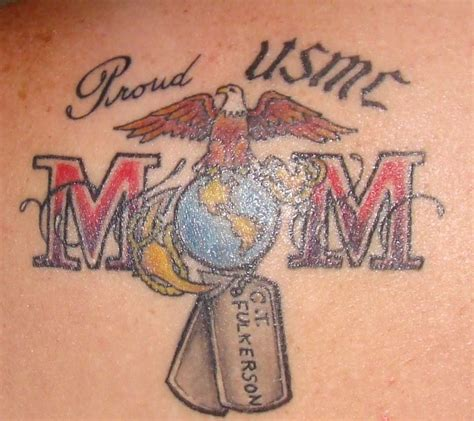 marine mom tattoos 36 best images about usmc on retirement cakes