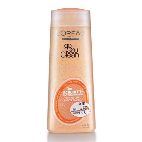 L Oreal Clean Exfoliating Scrub loreal go 360 clean exfoliating scrub