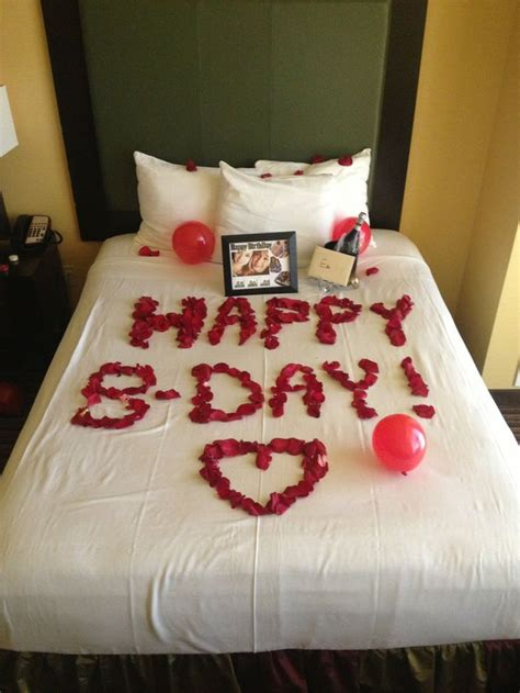 image result  romantic birthday surprises