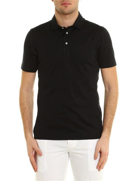 Polo Shirt Columbia Original 002 M silk and cotton blend polo shirt by brunello cucinelli