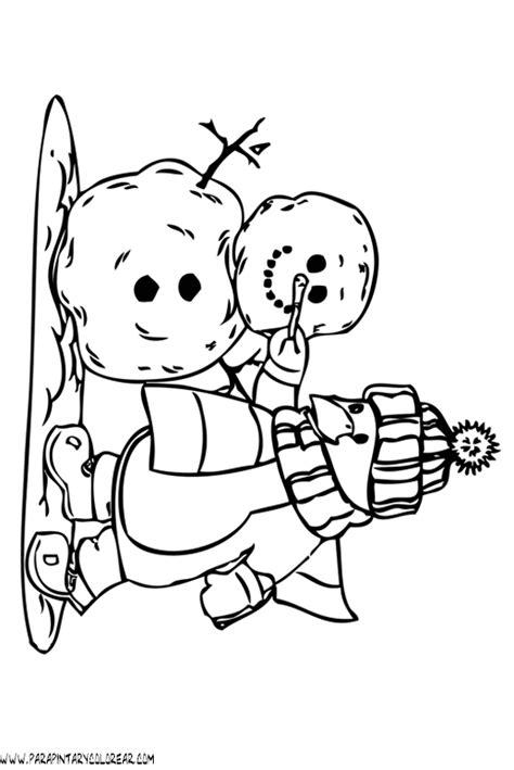 imagenes para colorear vacaciones de invierno pin invierno para colorear dibujos infantiles de p car