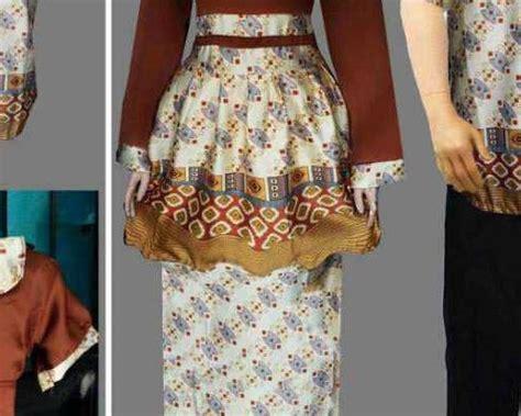 model baju sasirangan terbaru atasan pria wanita kantor