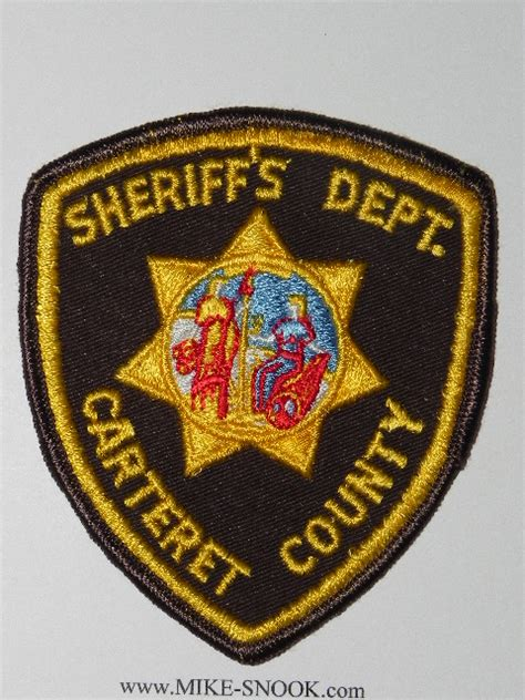 Carteret County Sheriff S Office by Mike Snook S Patch Collection State Of Carolina