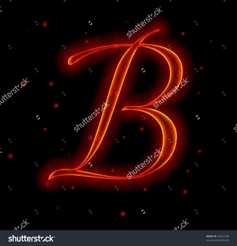 pin fire font with sparks letter m from alphabet stock fire font with sparks letter b stock photo 42427768
