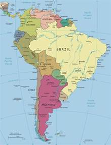 america political map south america political map