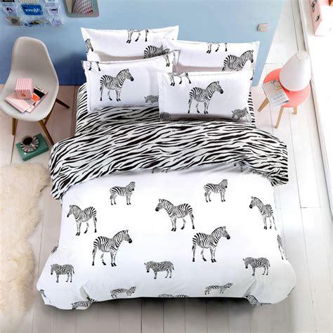 Fashion Bedding by Hello Black And White 4pcs Bedding Set Fashion Bed