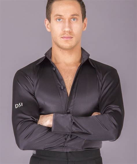 men s men s shirts dsi london 4025 satin shirt with pants